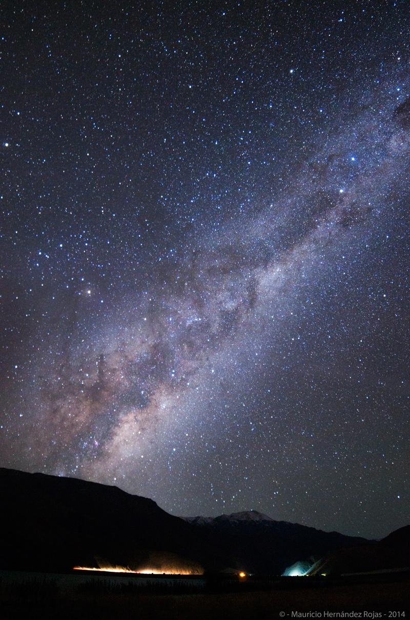 Vía Láctea Tranque Lautaro