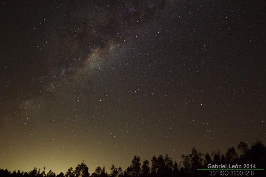 Vía Láctea desde Ruta F90