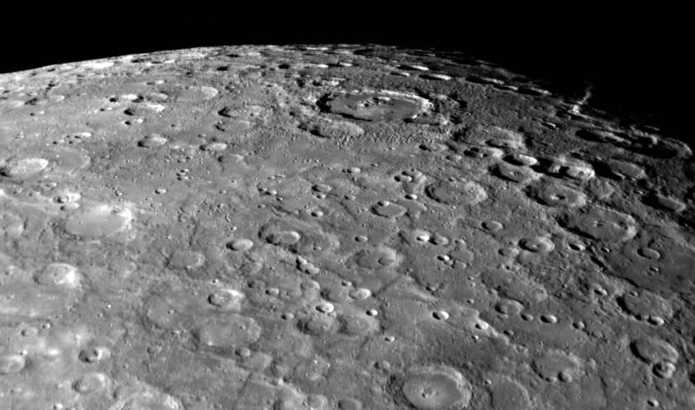 crateres Mercurio