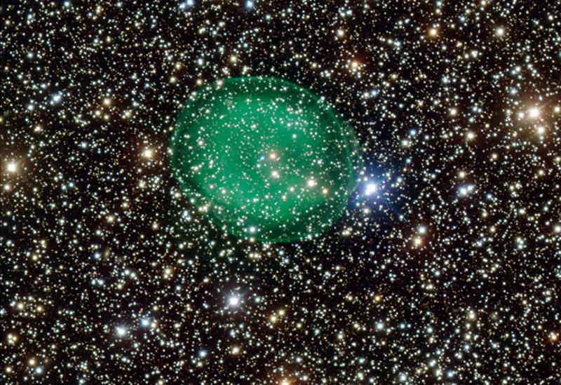 burbuja-verde-en-el-espacio