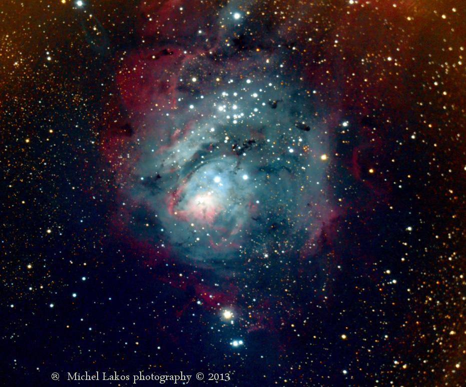 Resultado de imagen de M8: La Nebulosa de La Laguna