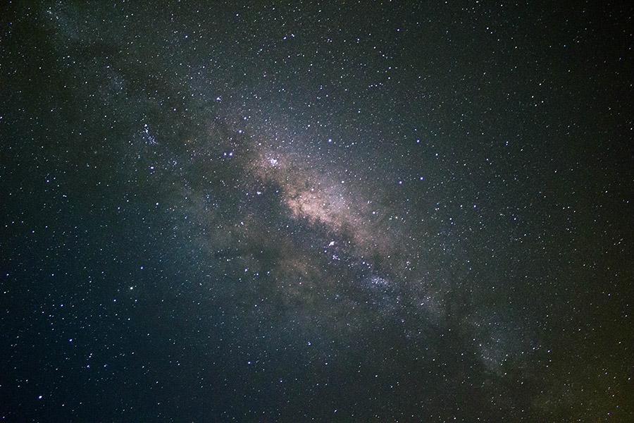 Vía Láctea desde Los Ángeles, VIII región (19/08/15). Tiempo de exposición 25 s- ISO 1600