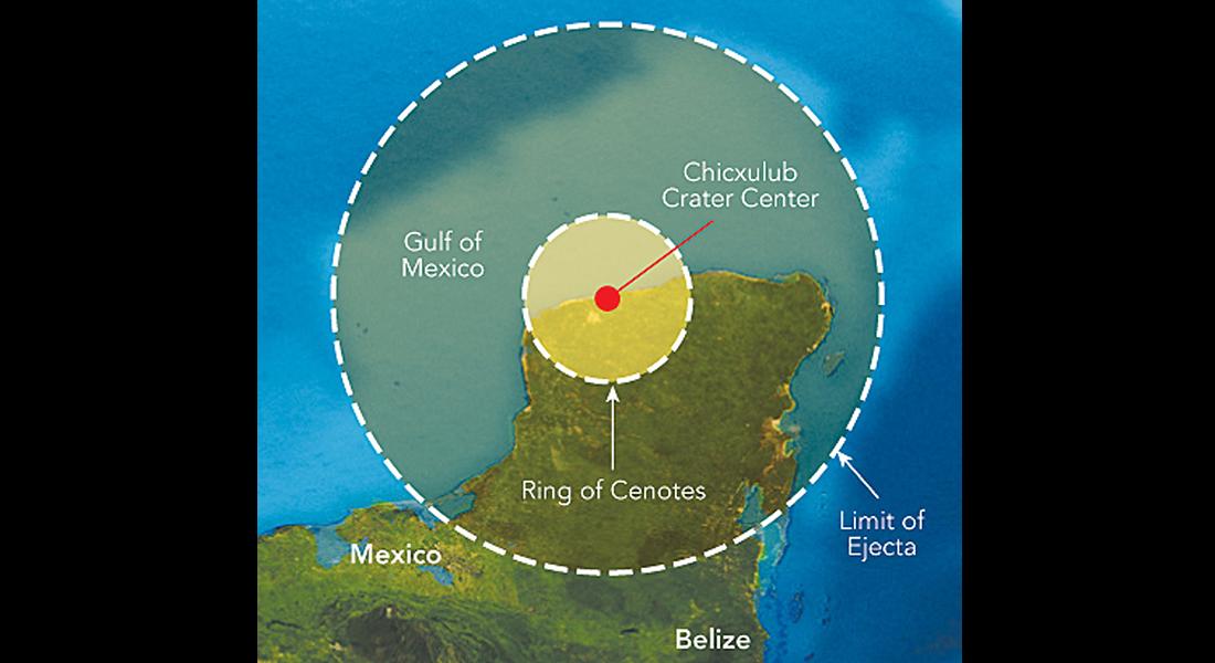 Resultado de imagen de El asteroide que acabó con los Dinosaurios
