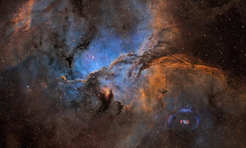 NGC6188-NGC6164