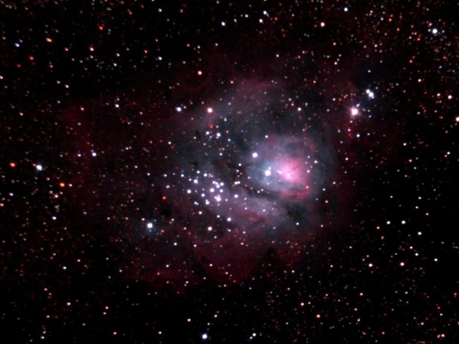 Nebulosa de la Laguna (M8) - Foto de Pablo Goffard
