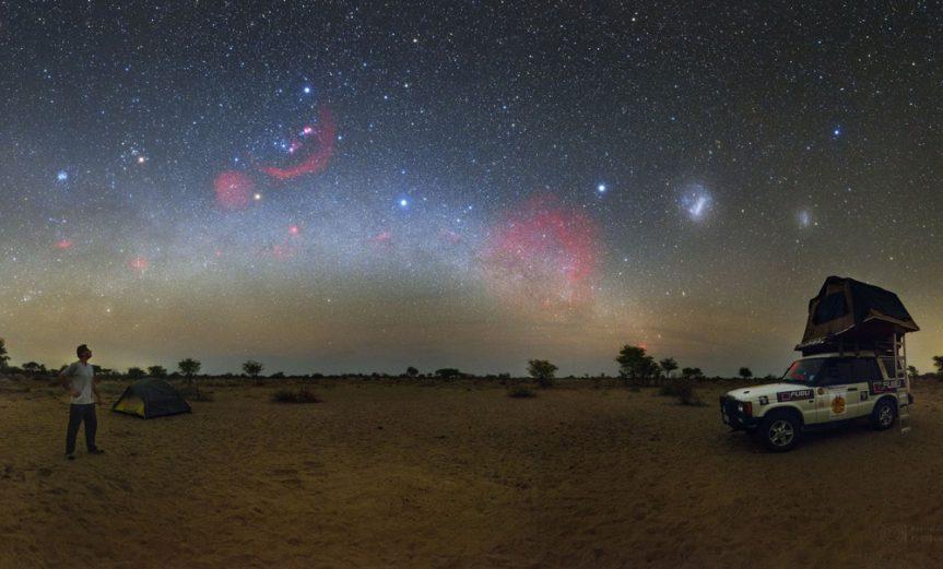 Cielo-en-Kalahari