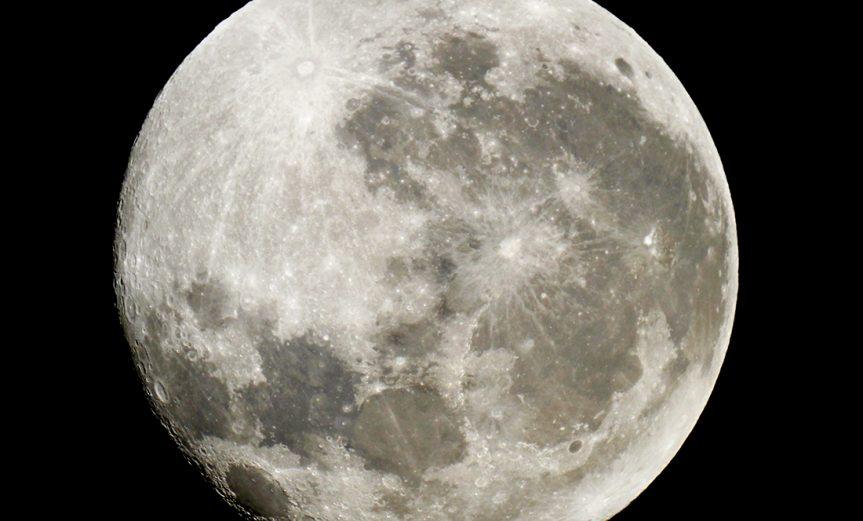 """""""Luna llena al 98.6%"""" - Pablo Goffard, Categoría Retrato Lunar."""