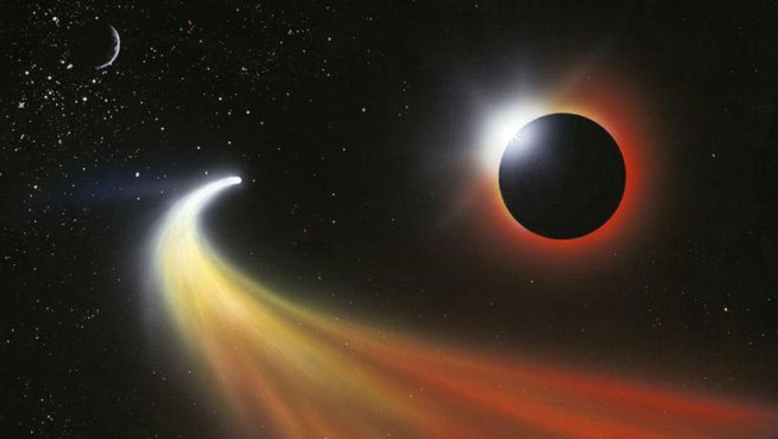 El Cometa Que Podría Haber Venido Desde Fuera Del Sistema