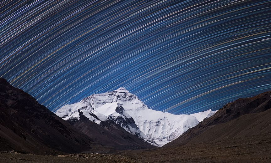 StarTrails-Everest