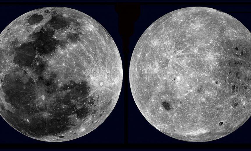 las dos caras de la luna