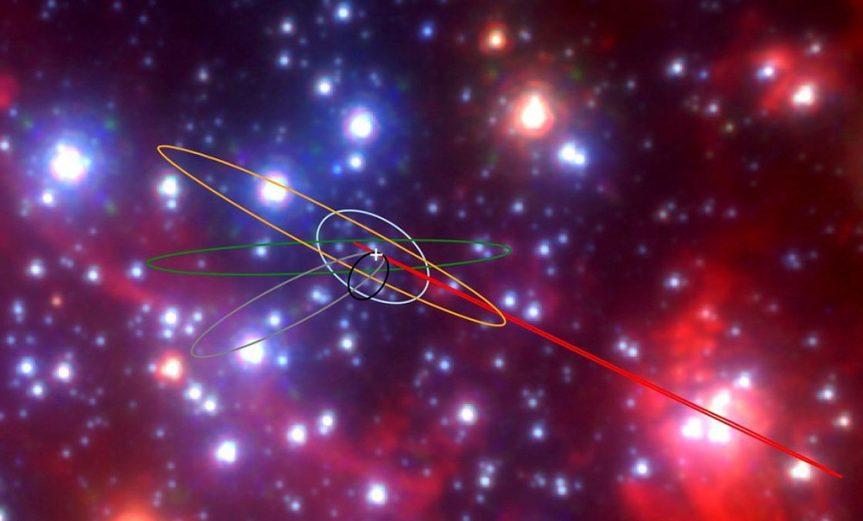 nuevos objetos centro galaxia