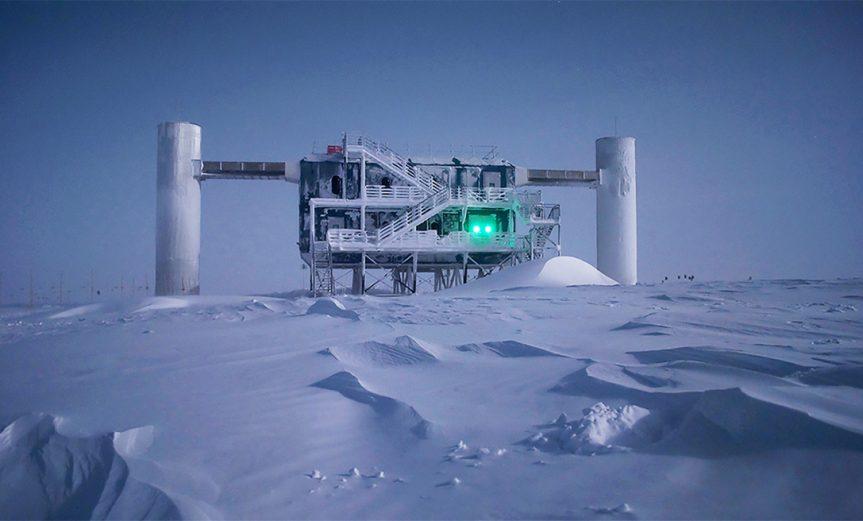telescopio IceCube neutrinos