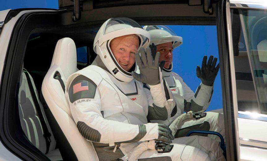 Lanzamiento SpaceX NASA Crew Dragon