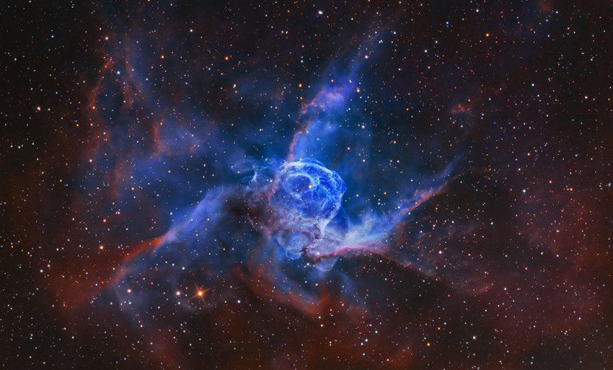 NGC 2359 Casco de Thor