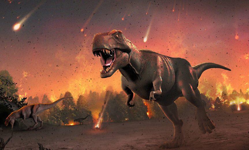 angulo asteroide dinosaurios