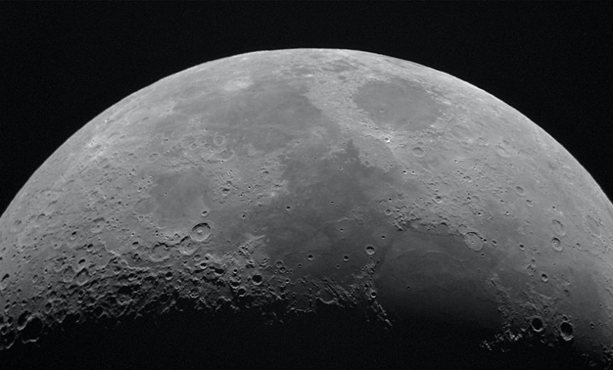 agua superficie luna