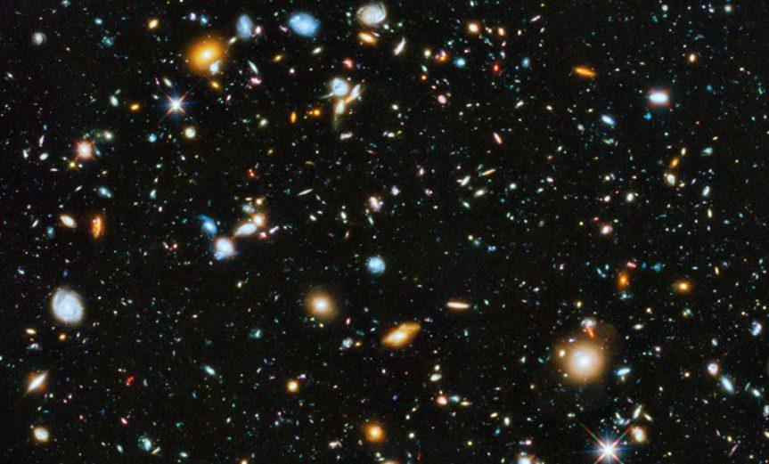 cantidad de materia universo