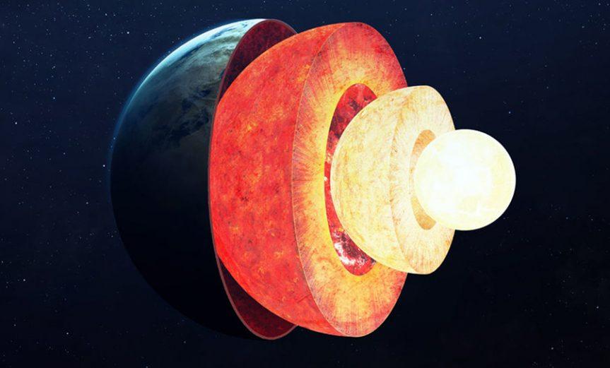 capa desconocida interior Tierra