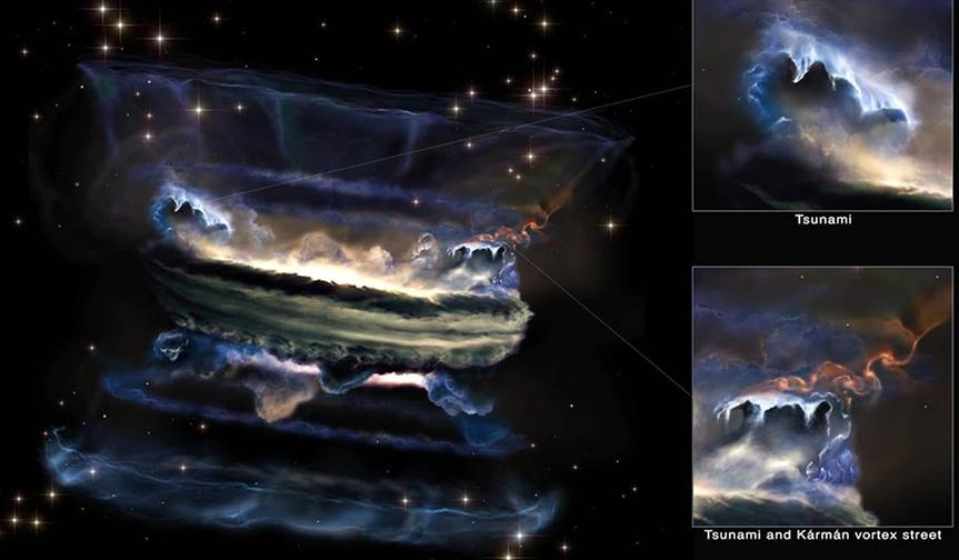 mayores tsunamis del universo